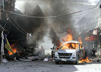 Photo: Seven car bombs across Baghdad kill at least 13 / Arab World
