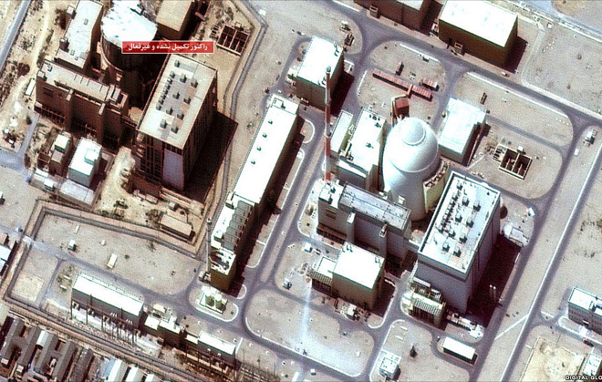 Photo: Official: Bushehr nuclear plant functions despite recent earthquake / Iran