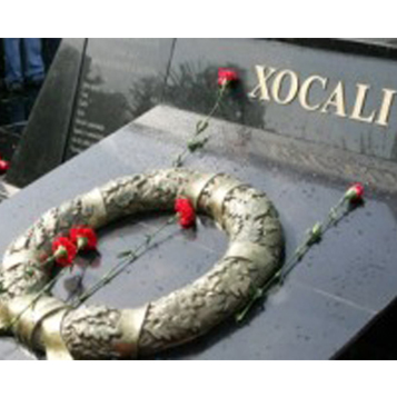 Photo: Monument on Khojaly genocide to be erected in Germany / Nagorno-karabakh conflict