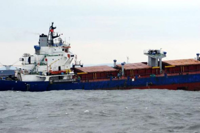 Photo: Dry cargo ship sinks off Turkish coast  