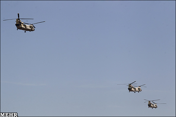 Photo: Iran's IRGC begins major ground, air military exercise
