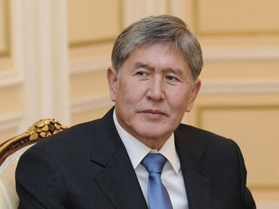 "Photo: President Atambayev will receive foreign ministers of a Dialogue ""Central Asia plus Japan""