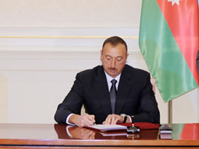 Photo: President Ilham Aliyev allocates AZN 3m to speed up social and economic development of Mingachevir  / Politics