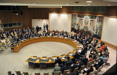 Photo: UN Security Council calls for Israeli-Palestinian ceasefire / Arab-Israel Relations