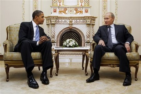 Photo: Putin, Obama discuss Syria, Iran, US-Russia relations on phone / Iran