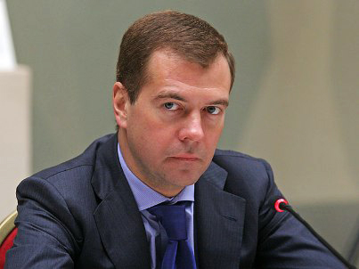 Photo: Russian prime minister Medvedev visits Crimea / Other News