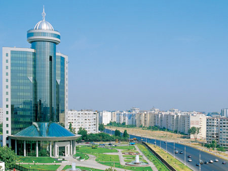 Photo: New Kazakh embassy building opens in Tashkent