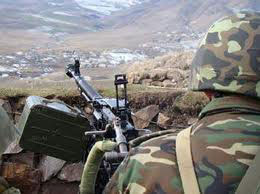 Photo: Armenian Armed Forces violate ceasefire again / Nagorno-karabakh conflict