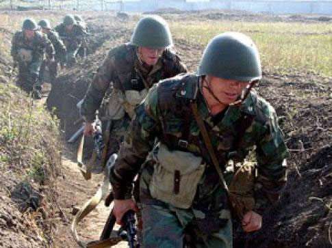 Photo: Armenian Armed Forces violate ceasefire from different positions / Nagorno-karabakh conflict
