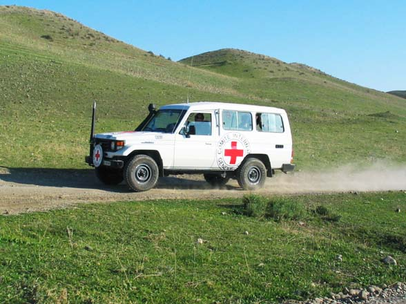 Photo: Azerbaijan appeals to ICRC regarding country's citizen taken hostage by Armenia  / Nagorno-karabakh conflict