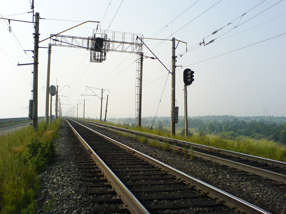 Photo: Azerbaijan reconstructs signaling system of railway in western direction / Economy news