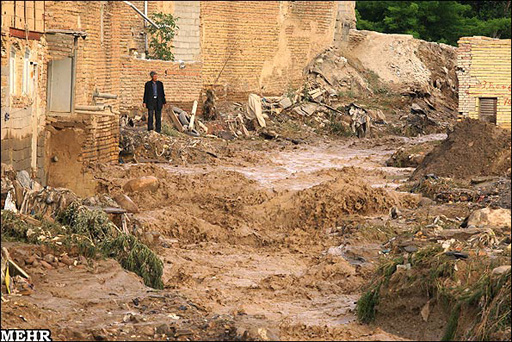 Photo: Flooding damages infrastructure of several cities in Iran / Other News