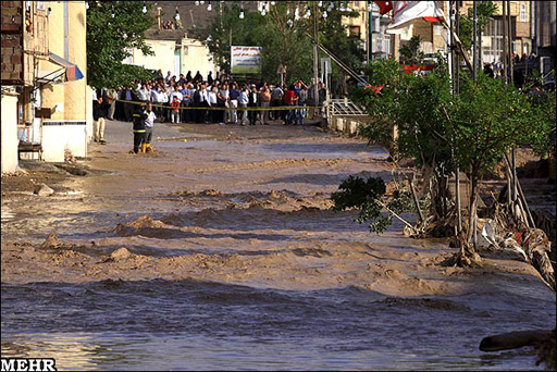 Photo: Flood kills 3 people in Iran's north / Iran
