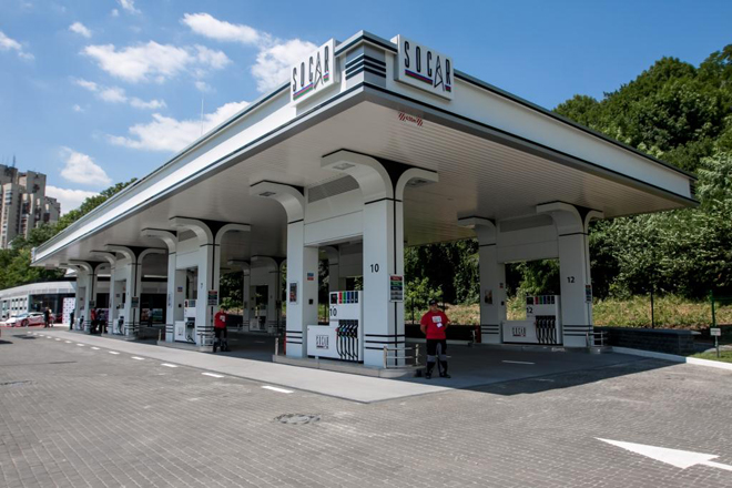 Photo: SOCAR opens new filling station in Ukraine  / Oil&Gas