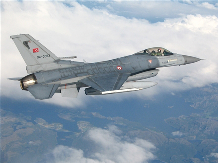 Photo: Turkish air force fires on PKK camps in northern Iraq / Other News