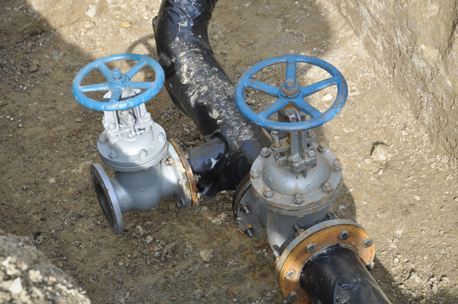 Photo: Water supply of one of villages of Baku improved / Finance