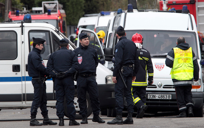 Photo: 44 police injured in French football clashes