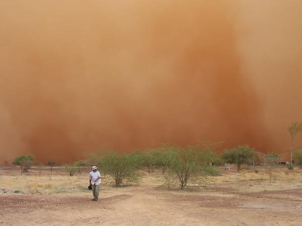 Photo: Dust storm kills 5 in Iran / Iran