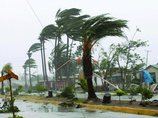 Photo: Typhoon kills 10 in Philippines, cuts power, shuts Manila, heads for China