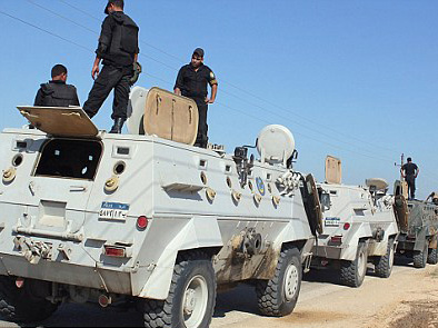 Photo: Two policemen killed in firefight in southern Egypt / Arab World