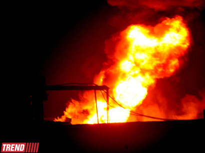 Photo: Death toll in Sumgayit plant fire increases to three / Other News