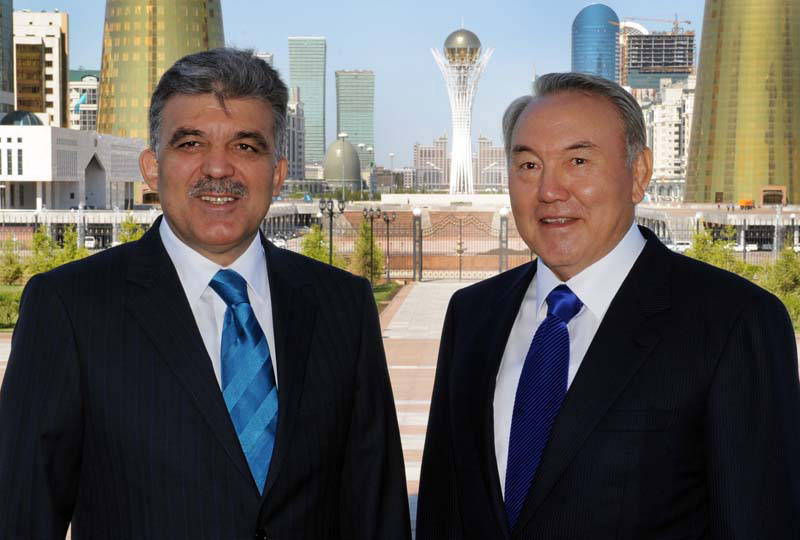 Photo: Kazakh and Turkish Presidents discuss bilateral relations / Kazakhstan