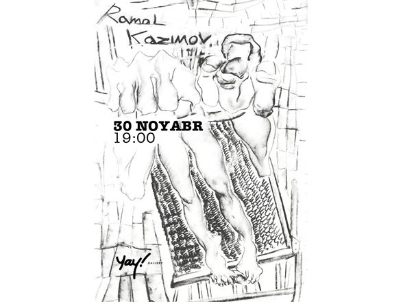 Photo: Ramal Kazimov's exhibition to be opened in 'Yay' Galery / Society