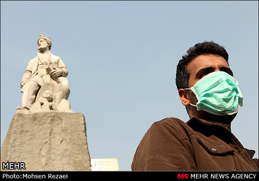 Photo: Dust storms affecting Iran may be contaminated with uranium - official / Iran