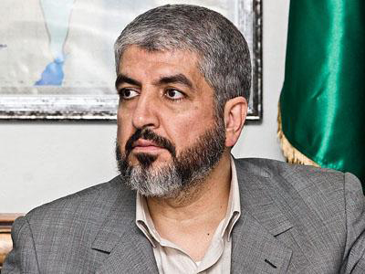 Photo: Palestinians await help from Egypt army: Hamas' Meshaal / Arab-Israel Relations