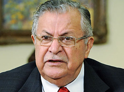 Photo: President Talabani returns to Iraq after months of medical treatment / Arab World