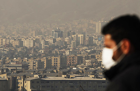 Photo: Iran's environment protection organization concerned about air pollution level
