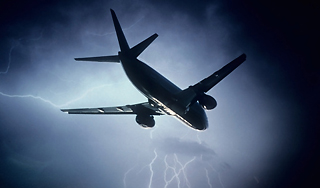 Photo: Lightning strikes aircraft of Turkish Airlines / Other News
