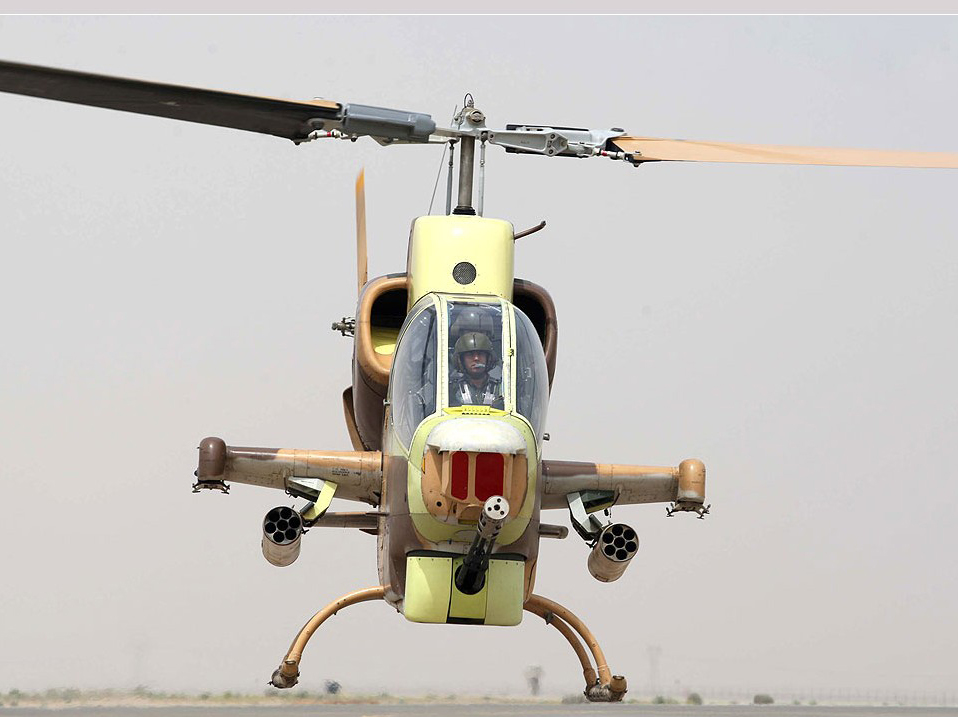 Photo: Iranian IRGC navy helicopters equipped with invisible missiles / Politics