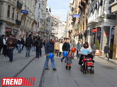 Photo:  Children account for 30 percent of population in Turkey / Society