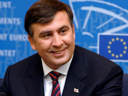 Photo: Mikheil Saakashvili awarded the ex-president of Latvia / Georgia