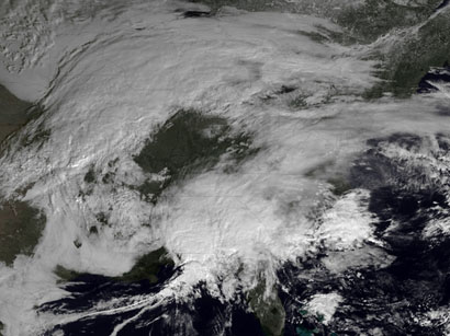 Photo: Northeast United States hit by huge snow storm  / Other News