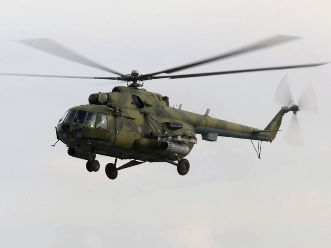 Photo: Russian helicopter violates Georgian airspace