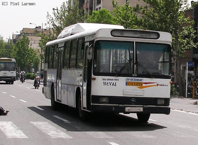 Photo: Iran builds Middle East first hybrid electric bus / Iran