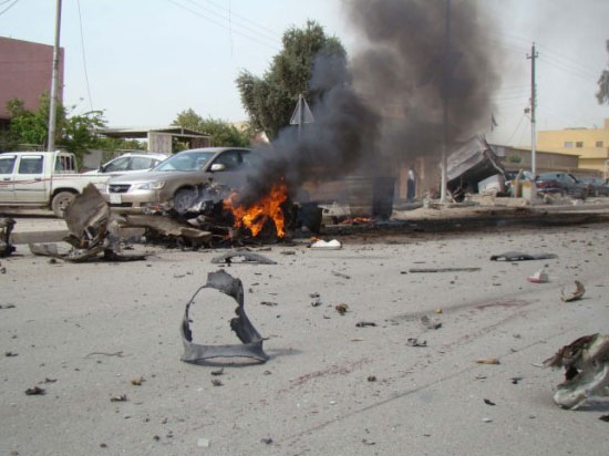 Photo: Multiple bomb blasts kill 28 in Iraqi capital / Arab World