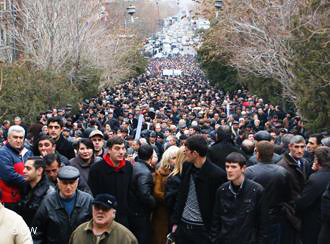 Photo: Rally in defence of political prisoners takes place in Yerevan / Armenia