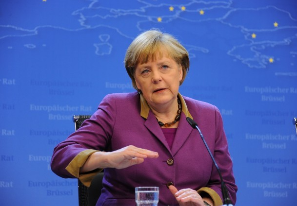 Photo: German chancellor calls Georgia's policy pragmatic / Georgia