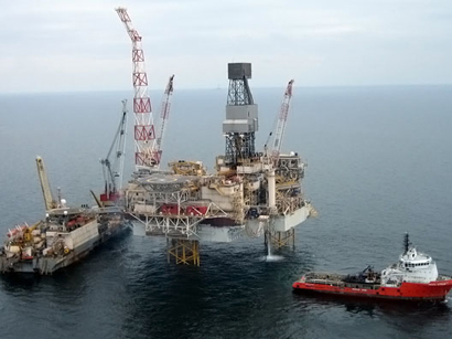 Photo: Contract signed on selling Total's share in Shah Deniz project