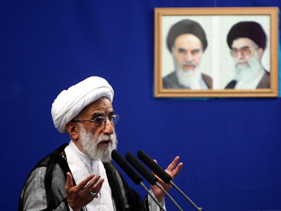 Photo: Hardliner cleric re-elected as head of Iran's Guardian Council / Iran