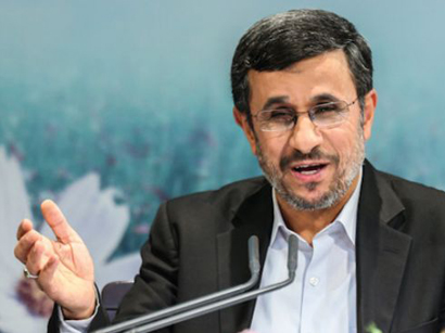 Photo: Iran's ex-president Ahmadinejad recommends police force to sell oil to compensate for budget deficit / Iran