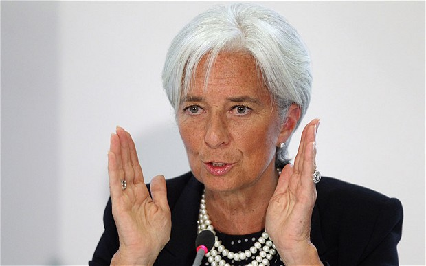 Photo: Lagarde: IMF is ready to provide assistance to Ukraine / Politics