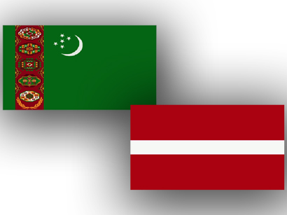 Photo: Turkmenistan, Latvia discuss economic partnership issues  / Turkmenistan