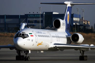 Photo: Technical problem forces plane's urgent landing in Iran / Iran