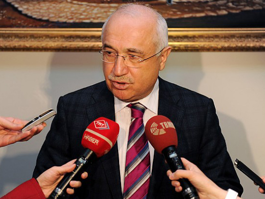 Photo: Turkish parliament chairman condemns capture of diplomats in Iraq's Mosul city / Politics