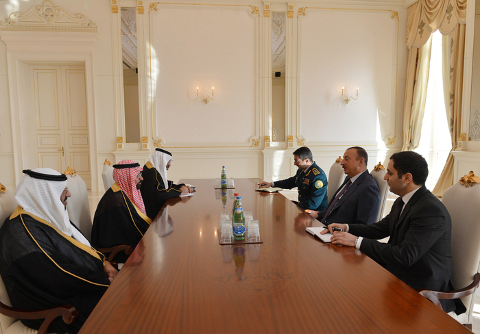 Photo: Azerbaijani President receives Director General of Saudi Arabian Border Guard / Politics