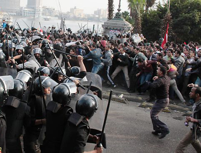 Photo: One killed in clashes amid pro-Morsi marches in Egypt / Arab World